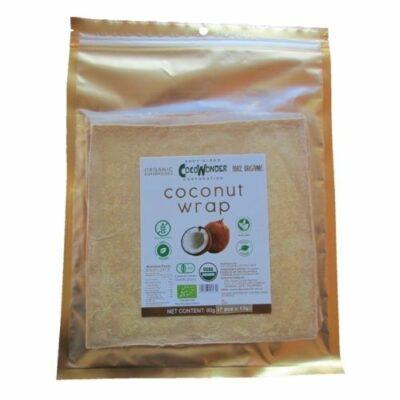 Glutenvrije kokosnoot wrap Bio